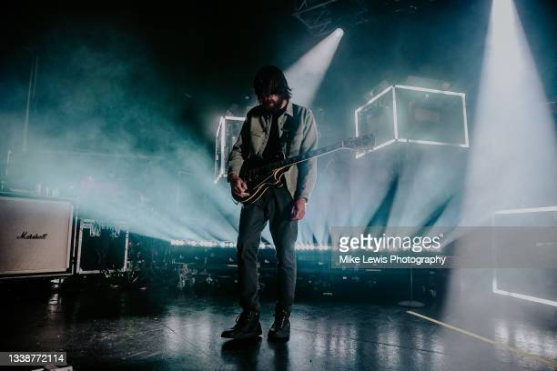 Christopher Miller of You Me At Six performs at O2 Academy Bristol on September 06, 2021 in London, England.