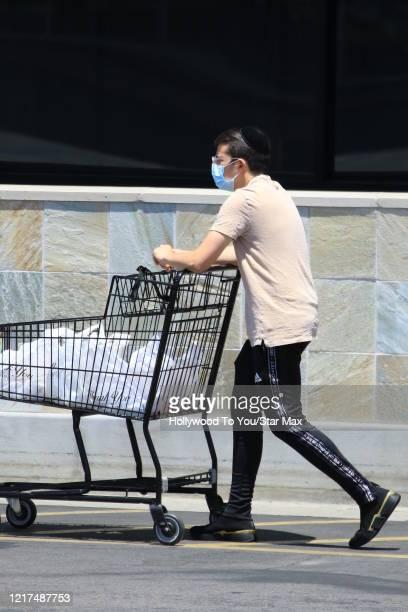 Christopher MintzPlasse is seen on June 3 2020 in Los Angeles CA
