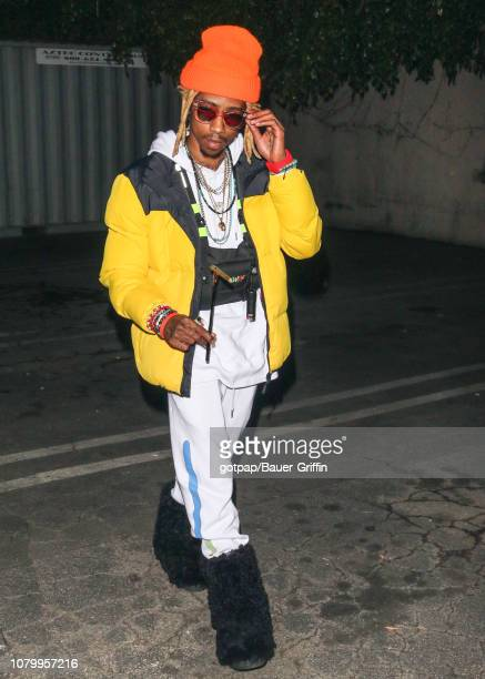 Christopher Moore aka 'Lil Twist' is seen on January 09 2019 in Los Angeles California