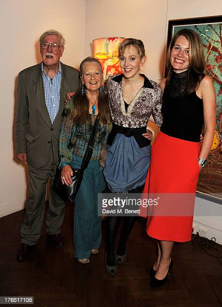 Christopher Morahan Anna Carteret Hattie Morahan and director Carrie Cracknell attend an after party following the press night performance of 'A...