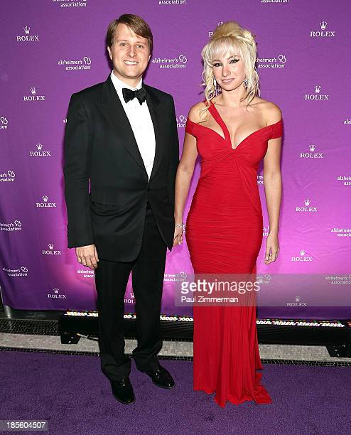 Christopher Nixon Cox and Andrea Catsimatidis attend 2013 Alzheimer's Association Rita Hayworth 30th Anniversary gala at The Waldorf=Astoria on...