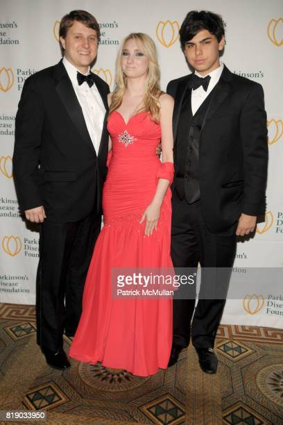 Christopher Nixon Cox Andrea Catsimatidis and John Catsimatidis Jr attend Bal du Printemps Gala Benefitting PARKINSON'S DISEASE FOUNDATION at The...