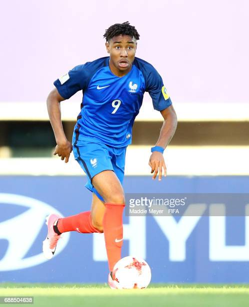Christopher Nkunku of France during the FIFA U-20 World Cup Korea Republic 2017 group E match between France and Vietnam at Cheonan Baekseok Stadium...