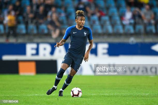 Christopher Nkunku of France during the qualifying European U21 match between France and Luxembourg on September 11 2018 in Strasbourg France