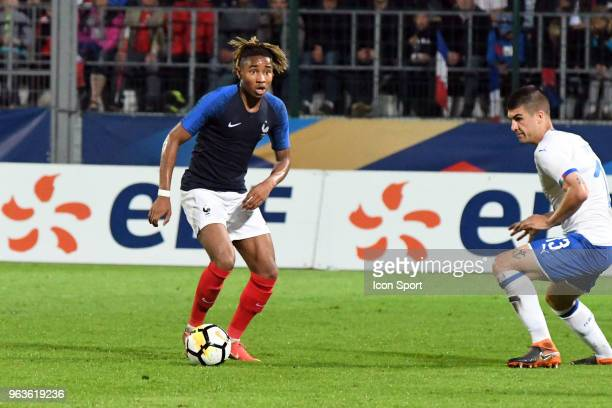 Christopher Nkunku of France during the U21 International Friendly match between France and Italy on May 29, 2018 in Besancon, France.