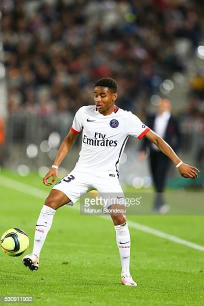 Christopher Nkunku of Paris SG during the French Ligue 1 match between FC Girondins de Bordeaux and Paris Saint-Germain at Nouveau Stade de Bordeaux...