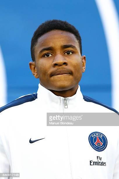 Christopher Nkunku of Paris SG during the French Ligue 1 match between FC Girondins de Bordeaux and Paris SaintGermain at Nouveau Stade de Bordeaux...