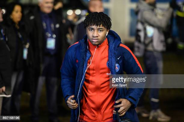 Christopher N'Kunku of PSG during the french League Cup match Round of 16 between Strasbourg and Paris Saint Germain on December 13 2017 in...