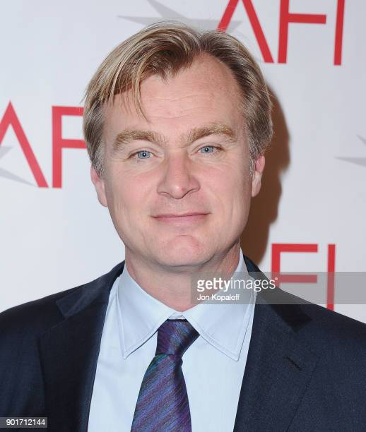 Christopher Nolan attends the 18th Annual AFI Awards at the Four Seasons Hotel on January 5 2018 in Los Angeles California