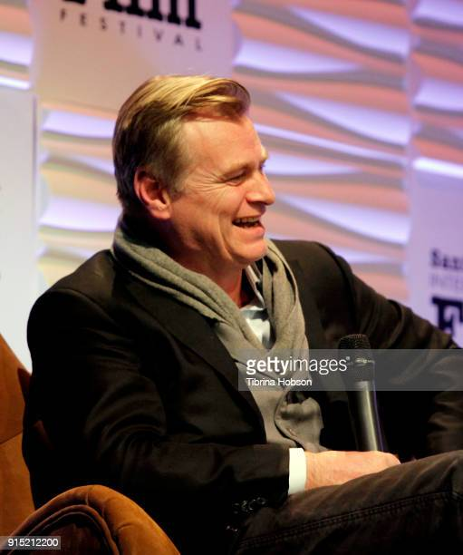 Christopher Nolan attends the 33rd annual Santa Barbara International Film Festival outstanding directors of the year presentation at Arlington...