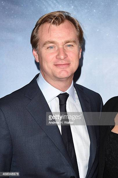 Christopher Nolan attends the 'Interstellar' New York premiere at AMC Lincoln Square Theater on November 3 2014 in New York City