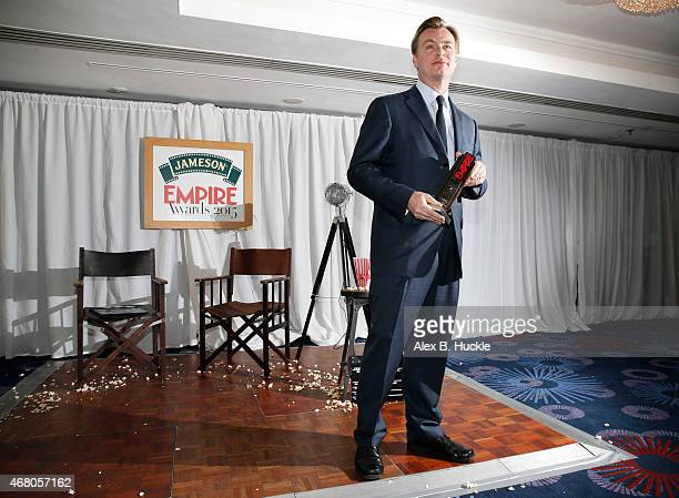 Christopher Nolan attends the Jameson Empire Awards 2015 at Grosvenor House on March 29 2015 in London England