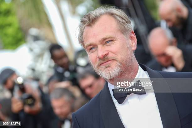 Christopher Nolan attends the screening of Sink Or Swim during the 71st annual Cannes Film Festival at Palais des Festivals on May 13 2018 in Cannes...