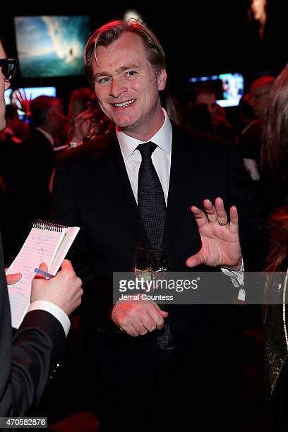 Christopher Nolan attends TIME 100 Gala TIME's 100 Most Influential People In The World on April 21 2015 in New York City
