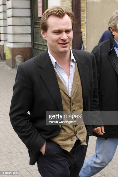 Christopher Nolan during Christopher Nolan on Location for 'Batman Begins 2' May 31 2007 in London Great Britain
