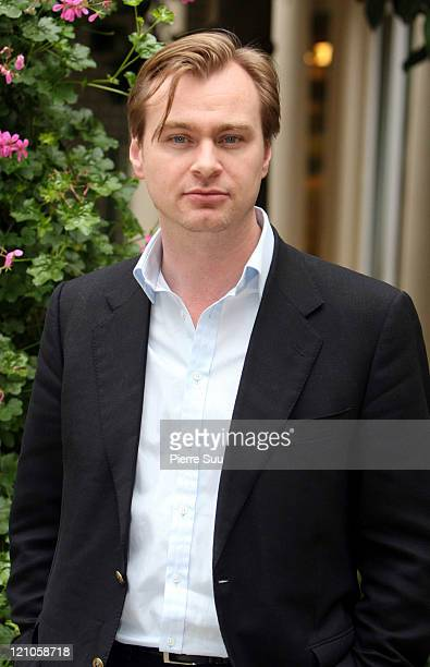 Christopher Nolan during 'The Prestige' Paris Photocall at Paris in Paris France