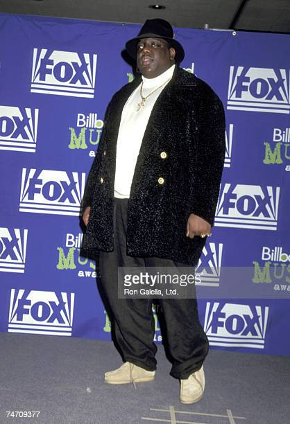 Christopher Notorious BIG Wallace in New York City New York