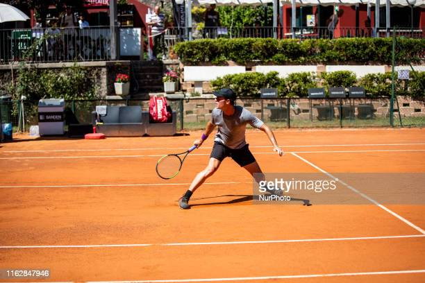 Christopher O'Connell during the match between Christopher O'Connell and Carlos Alcaraz at the Internazionali di Tennis Citt dell'Aquila in L'Aquila,...
