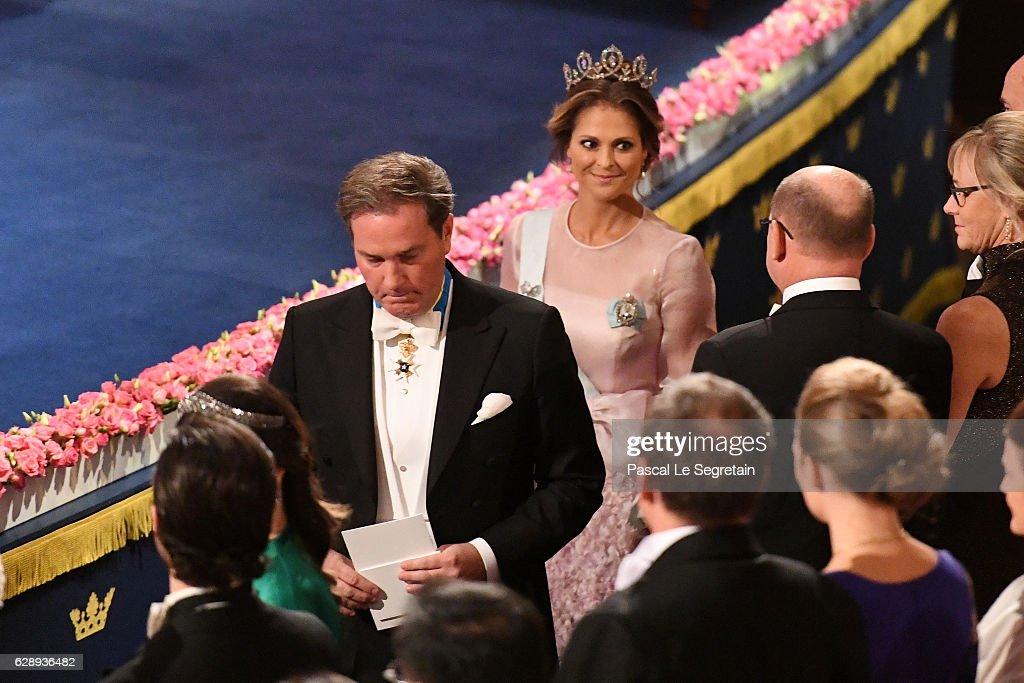 The Nobel Prize Award Ceremony 2016 : News Photo