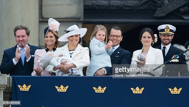 Christopher O'Neill, Princess Madeleine of Sweden, Prince Oscar of Sweden, Crown Princess Victoria of Sweden , Prince Daniel of Sweden, Princess...