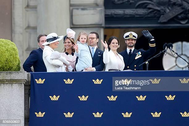 Christopher O'Neill Princess Madeleine of Sweden Prince Oscar of Sweden Crown Princess Victoria of Sweden Prince Daniel of Sweden Princess Estelle of...