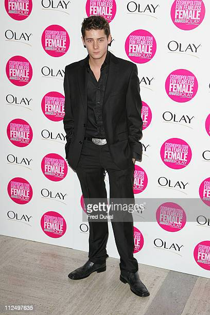 Christopher Parker during Cosmopolitan Fun Fearless Female Awards with Olay Red Carpet at Bloomsbury Ballroom in London Great Britain