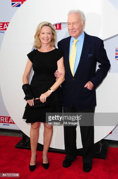 Christopher Plummer and Elaine Taylor arrive at a reception to honour the British Nominees of the 84th Annual Academy Awards held at the British...