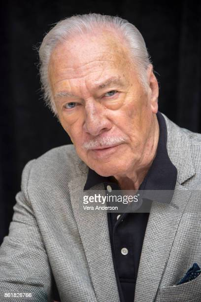Christopher Plummer at The Man Who Invented Christmasl Press Conference at the RitzCarlton Hotel on October 14 2017 in New York City