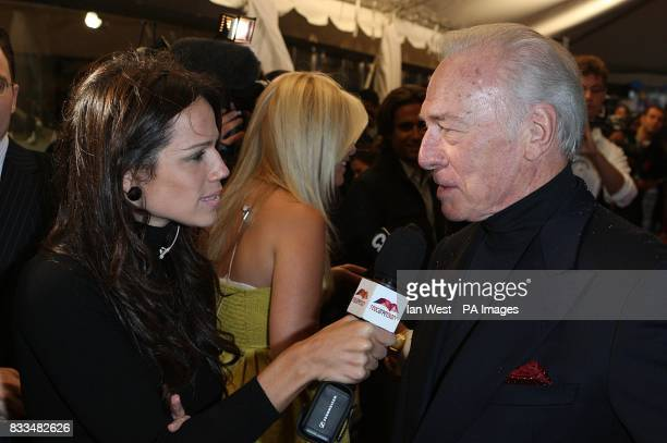 Christopher Plummer attends The 32nd Annual Toronto International Film Festival 'Closing The Ring' Premiere at Roy Thomson Hall.