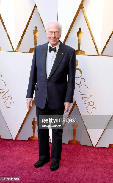 Christopher Plummer attends the 90th Annual Academy Awards at Hollywood Highland Center on March 4 2018 in Hollywood California