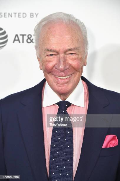 Christopher Plummer attends the The Exception Premiere 2017 Tribeca Film Festival at the BMCC Tribeca PAC on April 26 2017 in New York City