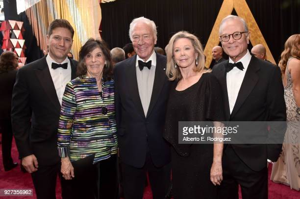 Christopher Plummer Elaine Taylor and guests attend the 90th Annual Academy Awards at Hollywood Highland Center on March 4 2018 in Hollywood...