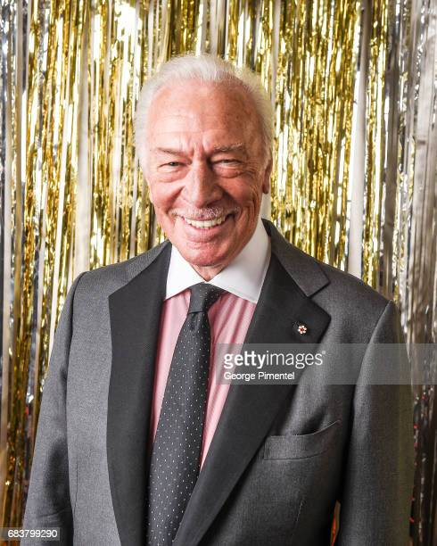 Christopher Plummer poses at the 2016 Canadian Screen Awards Portrait Studio at the Sony Centre for the Performing Arts on March 13 2016 in Toronto...