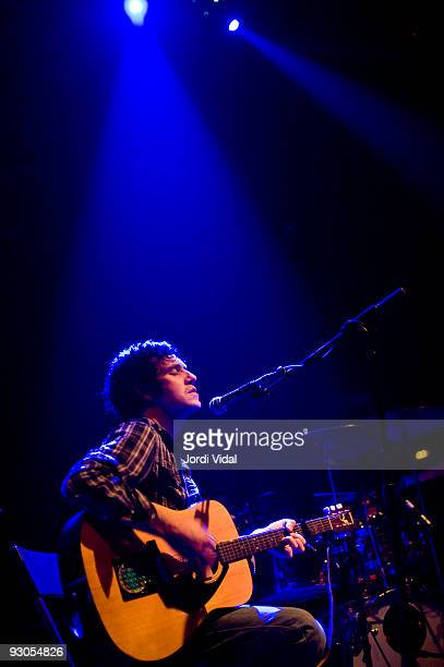 Christopher Porpora aka Cheval Sombre performs on stage at Sala Apolo on November 13 2009 in Barcelona Spain