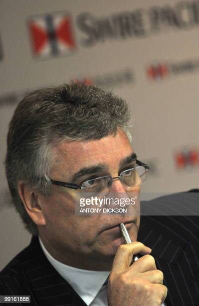 Christopher Pratt chairman of Swire Pacific attends the Swire Pacific Limited annual general meeting in Hong Kong on May 13 2010 Swire Properties one...