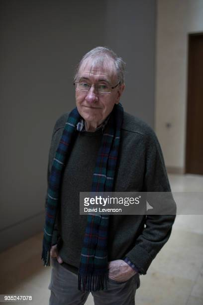 Christopher Priest science fiction writer at the FT Weekend Oxford Literary Festival on March 20 2018 in Oxford England