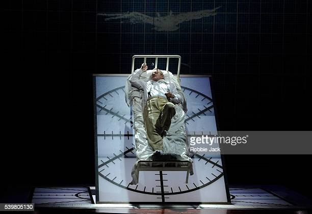 Christopher Purves as Walt Disney in the English National Opera's production of Philip Glass's The Perfect American directed by Phelim McDermott and...