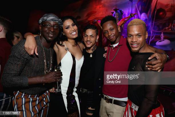 Christopher Quarles Leyna Bloom Devon Carpenter and Taliek Jeqon attend Saks Fifth Avenue And The Stonewall Inn Gives Back Initiative Celebration...