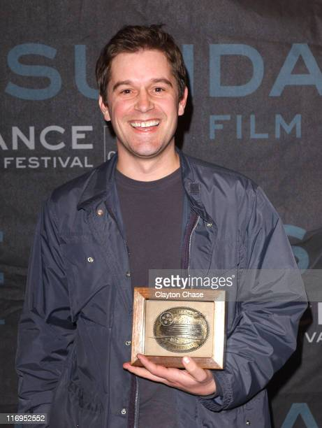 """Christopher Quinn, director of """"God Grew Tired of Us"""" and winner of the Grand Jury Prize for Documentary"""
