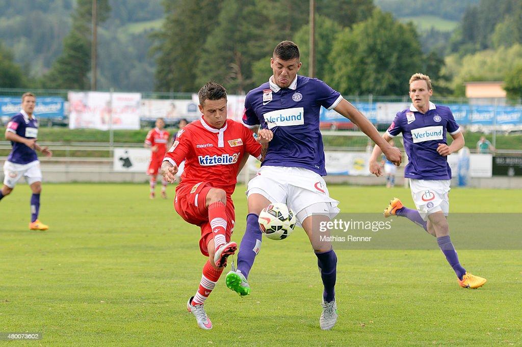 FK Austria Wien v 1. FC Union Berlin - friendly match : News Photo