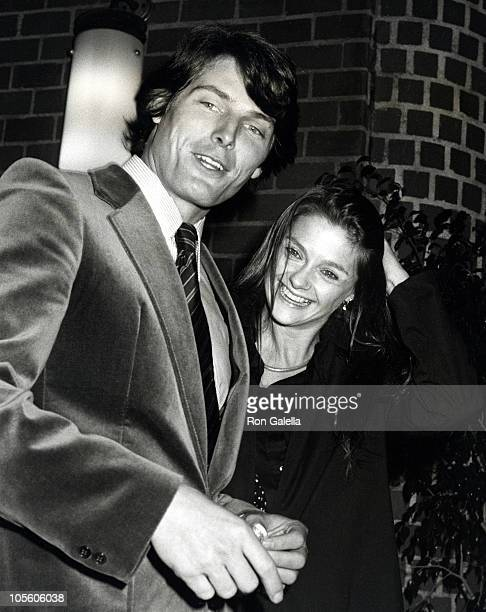 Christopher Reeve and Gae Exton during Christopher Reeve and Gae Exton Sighting at Mr Chow's Restaurant at Mr Chow's Restaurant in Los Angeles...