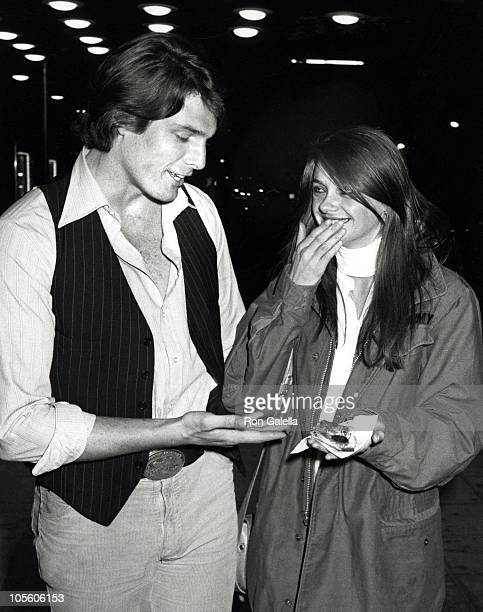 Christopher Reeve and Gae Exton during Martin Mull Party March 9 1979 in New York City New York United States