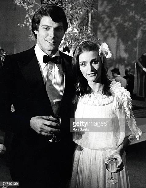 Christopher Reeve and Margot Kidder at the JFK Center for the Performing Arts Eisenhower Theater in Washington DC
