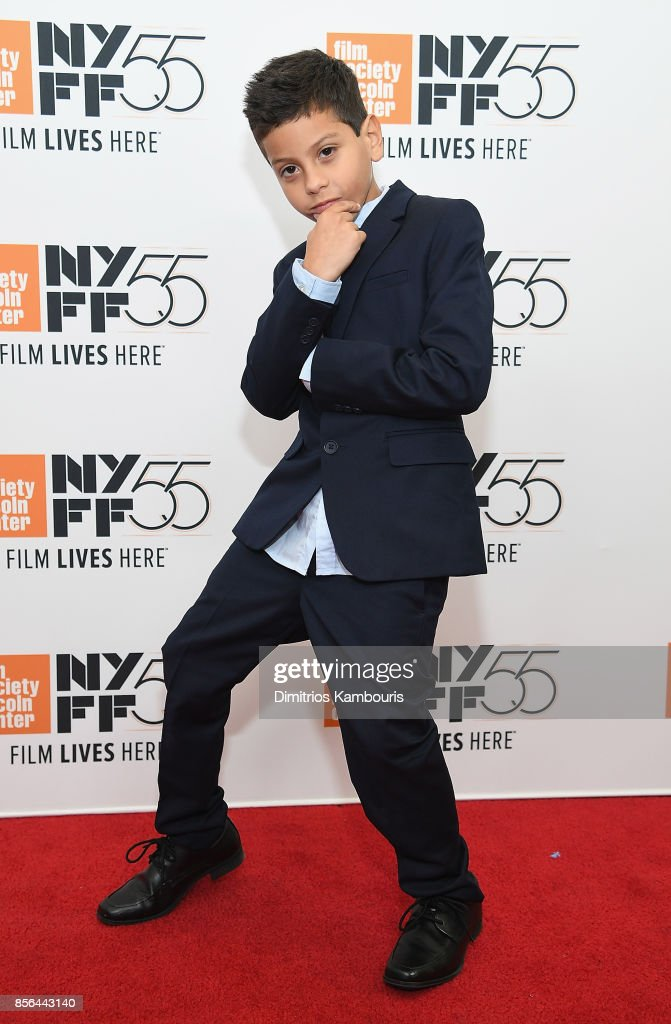 Christopher Rivera attends The 55th New York Film Festival - 'The Florida Project' at Alice Tully Hall on October 1, 2017 in New York City.