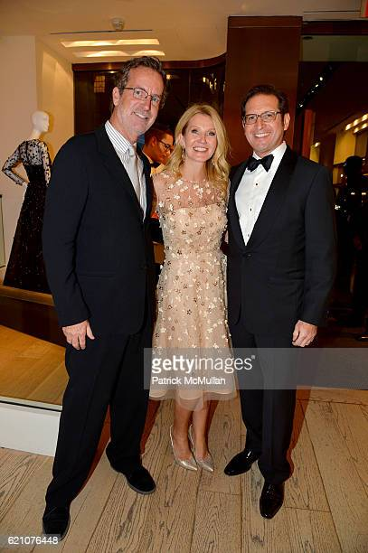 Christopher Robbins Kathy Prounis and Othon Prounis attend the Lenox Hill Neighborhood House Associates Committee Fall Benefit Celebrate the...