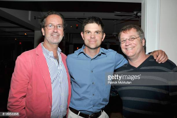 Christopher Robins Evan Tiska and Jim Spiers attend MIRACLE HOUSE 20th Anniversary Memorial Day Summer Kickoff Benefit honoring Amy Chanos and Jim...