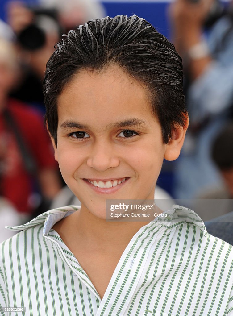 Christopher Ruiz Esparza at the photocall for 'Abel' during the 63rd Cannes International Film Festival.