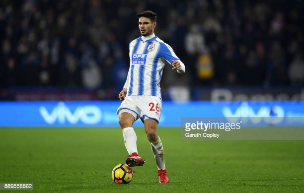 Christopher Schindler of Huddersfield Town during the Premier League match between Huddersfield Town and Brighton and Hove Albion at John Smith's...