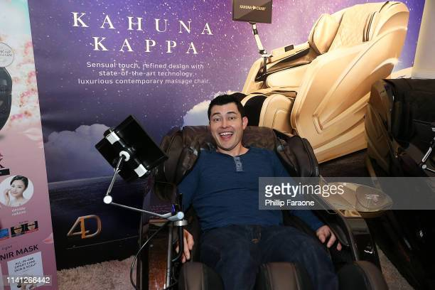 Christopher Sean attends the Daytime Emmy Awards PreAwards Networking Party/Gift Lounge at Pasadena Convention Center on May 4 2019 in Pasadena...