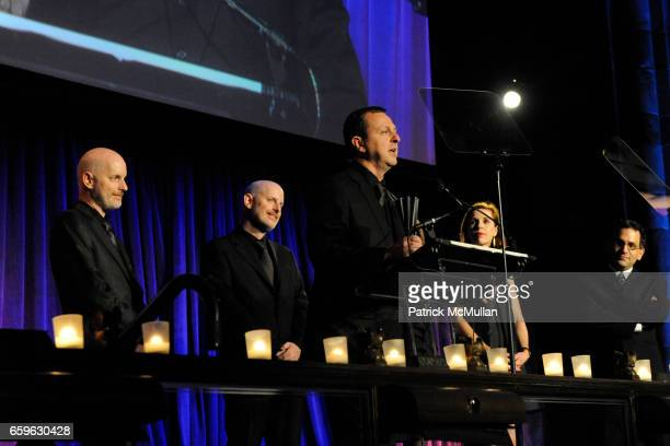 Christopher Sharples Gregg Pasquarelli William Sharples Coren Sharples Kimberly Holden and Reed Kroloff attend NATIONAL DESIGN AWARDS Gala at...